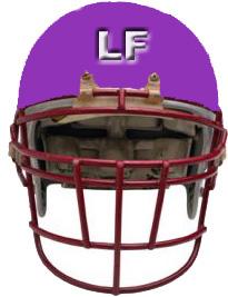 LF fottball Helmet